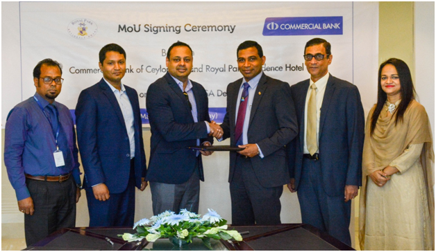 Commercial Bank Sri Lanka Signing Of Mou With Royal Park Hotel