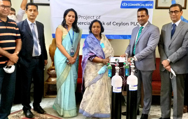 Bank Donated Oxygen Cylinders to Narayanganj City Corporation